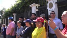 Continúa asedio a diplomáticos de Venezuela en Costa Rica