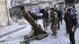 Ejército sirio destruye lanzacohetes de extremistas en Latakia