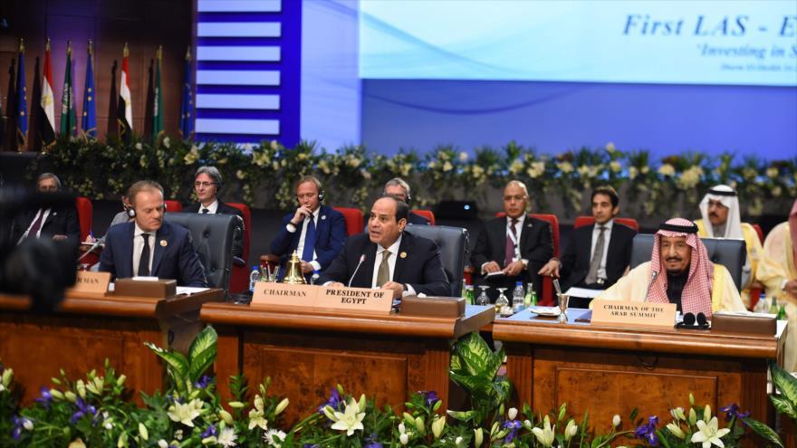 Arranca en Egipto la 1ª cumbre UE-LA enfocada en el terrorismo