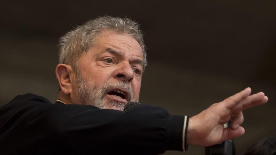El expresidente de Brasil Luiz Inácio Lula da Silvia.