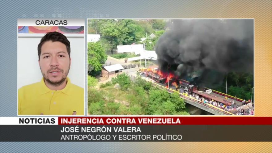 Negrón: EEUU optará por saqueo de bienes de Venezuela | HISPANTV