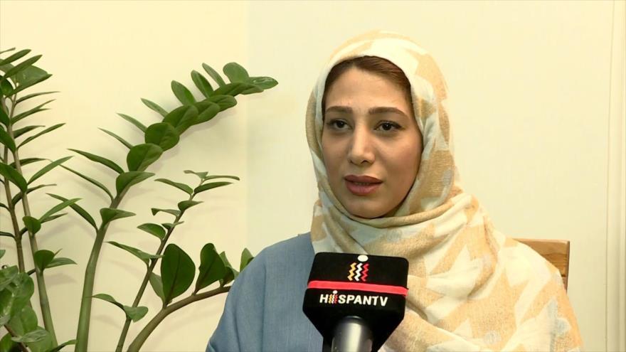 Iraníes festejaron el Día de la Madre y de la Mujer