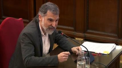 Juicio contra los líderes independentistas catalanes en España