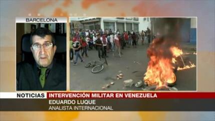 'Ejército de Venezuela hará frente a una invasión militar de EEUU'