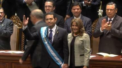 Esposa del presidente de Guatemala es señalada por corrupción