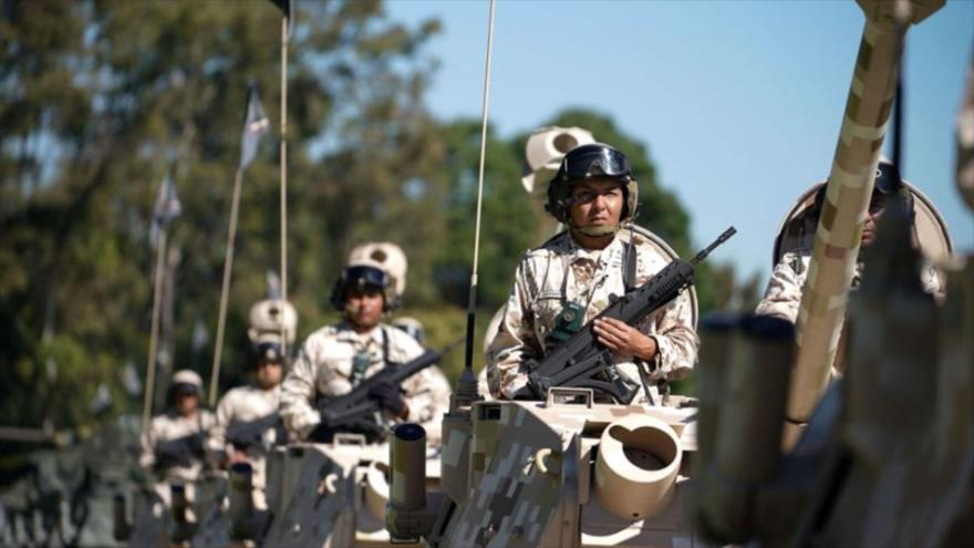 Miembros de la Guardia Nacional de México.