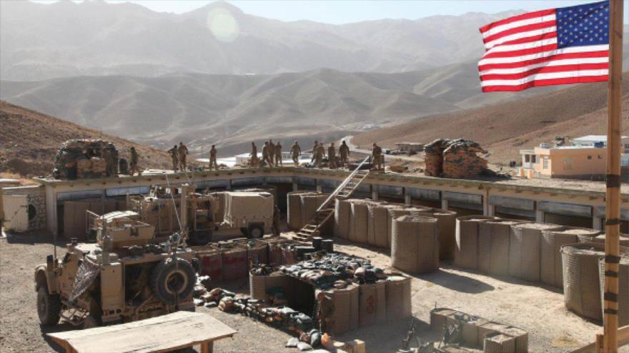 Fuerzas estadounidenses desplegadas en una instalación militar en la zona de Al-Tanf, en el sur de Siria.