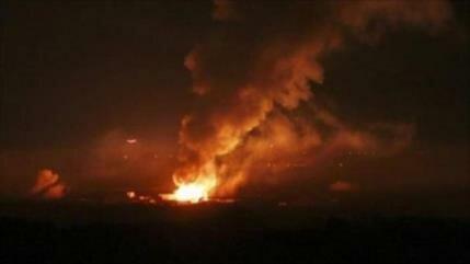 Cazas y helicópteros israelíes atacan el sur de la Franja de Gaza