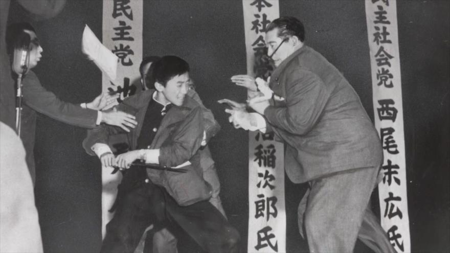 Fotos que sacuden al mundo: Asesinato del Líder del Partido Socialista de Japón