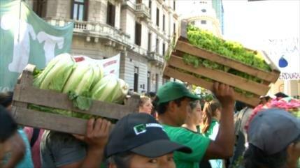 """""""Verdurazo"""" histórico en Argentina"""