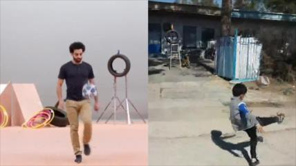 Vídeo: niño iraní imita a su ídolo Mohamed Salah