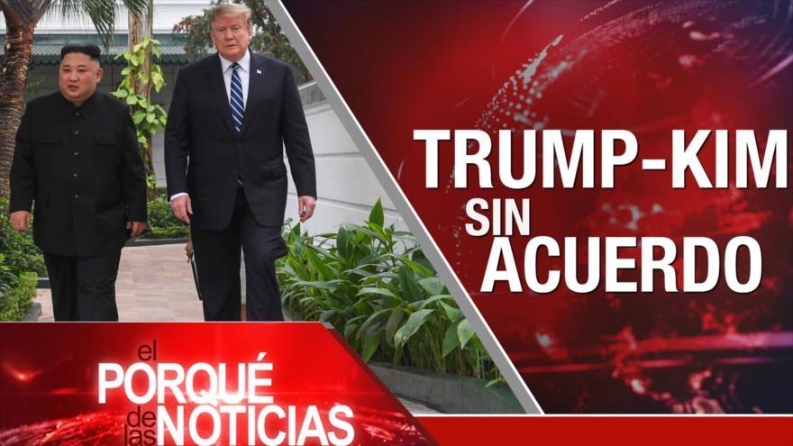 El Porqué de las Noticias: Cumbre Trump-Kim. Resoluciones sobre Venezuela. Crímenes de Israel