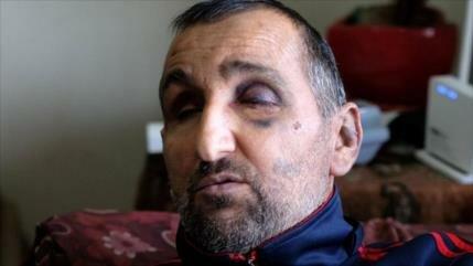 Vídeo impactante: Soldados israelíes golpean a un hombre ciego