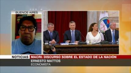 Mattos: Argentina se ha convertido en un peón de EEUU