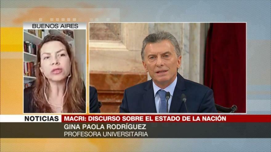 Rodríguez: declaraciones de Macri están lejos de las expectativas