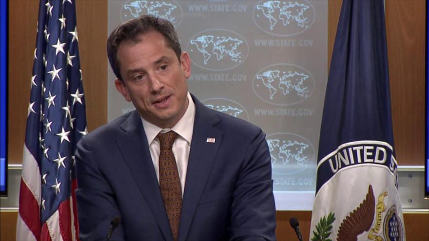 El portavoz del Departamento de Estado de EE.UU., Robert Palladino.