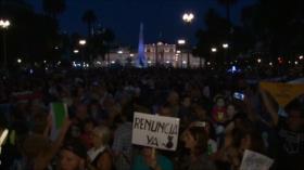 Fuerte repudio a discurso de Macri en Argentina