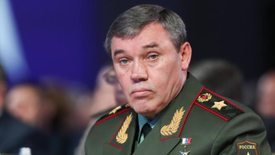 El jefe del Estado Mayor de las Fuerzas Armadas de Rusia, Valery Gerasimov.