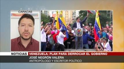 """José Negrón: Venezuela enfrenta a un estado """"mercenario"""", EEUU"""