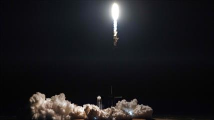 SpaceX lanza su nueva cápsula Crew Dragon al espacio