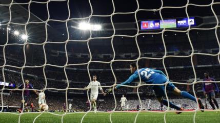 El Barça derrota 1-0 al Real Madrid y se acerca al título liguero