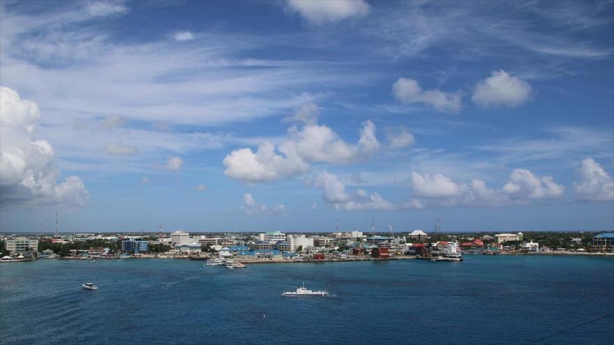 Panorámica de las islas Caimán, señaladas como uno de los principales puntos para la evasión fiscal del planeta. (Foto: Transparency International)