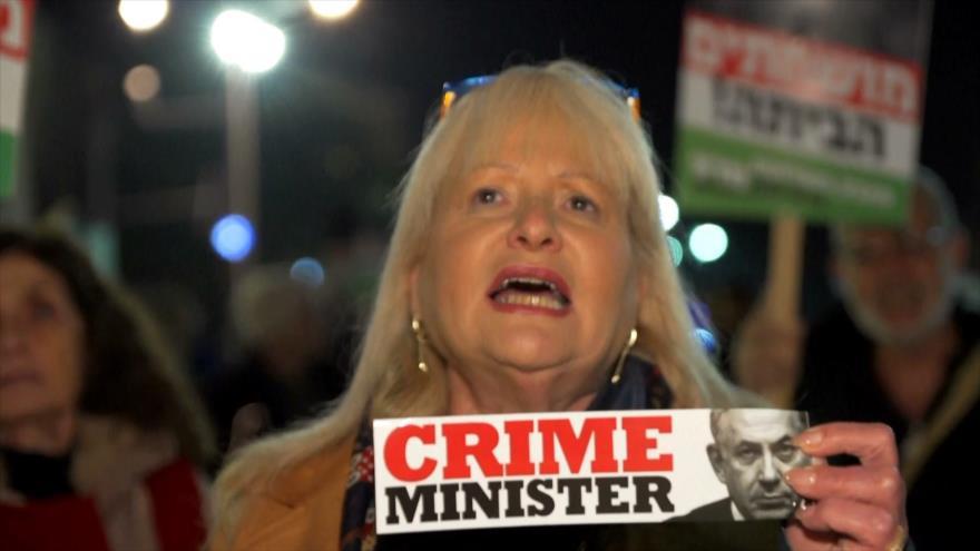 Netanyahu es imputado por diferentes casos de corrupción