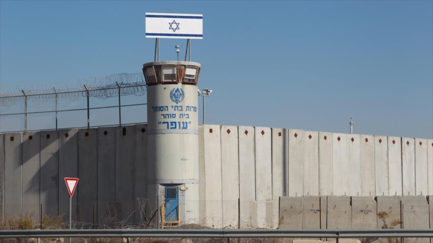 La cárcel israelí de Ofer en los territorios palestinos ocupados.