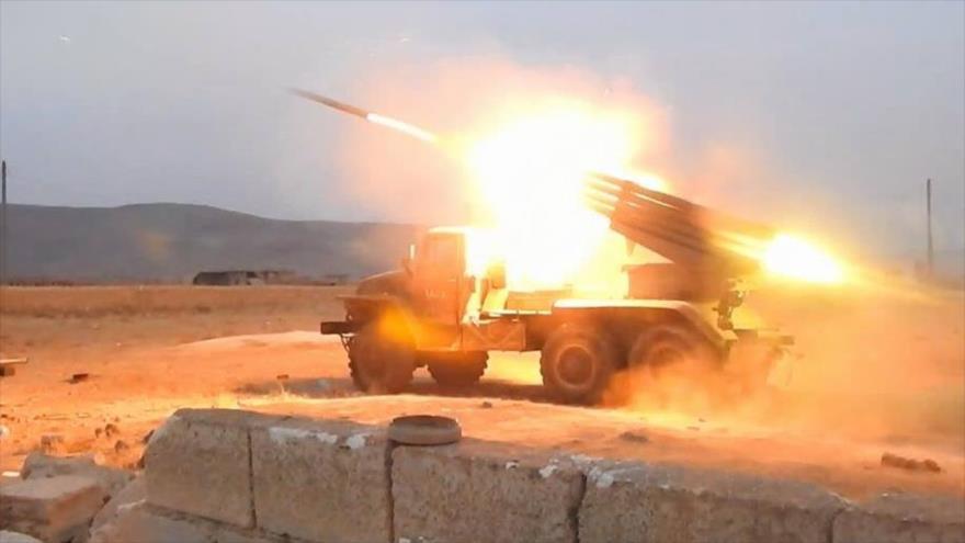 Siria lanza varios misiles contra terroristas de Al-Nusra en Idlib | HISPANTV