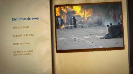 Retos y logros de una Revolución: Disturbios de 2009