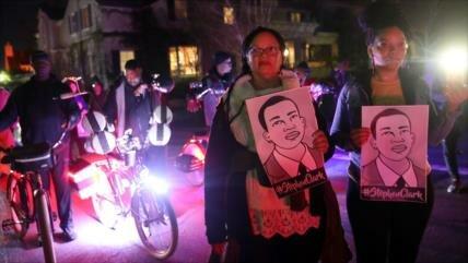Detienen a 80 manifestantes contra impunidad policial en EEUU