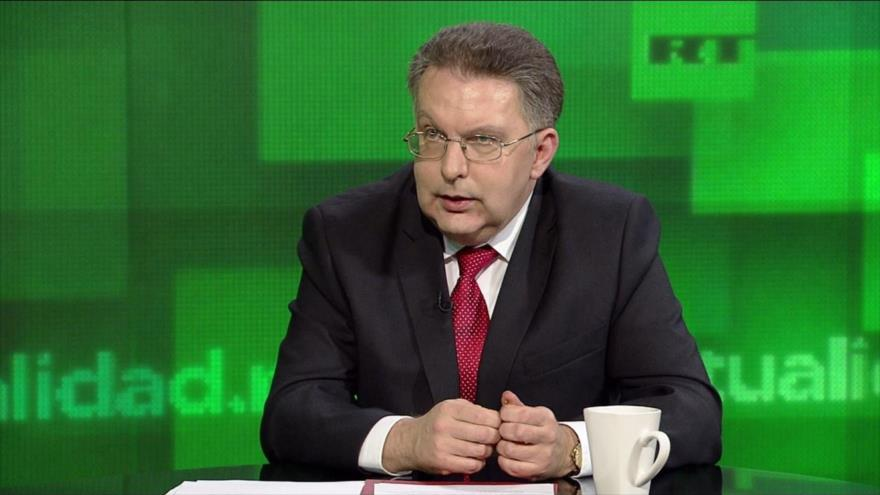 El director del Departamento de América Latina de la Cancillería rusa, Alexánder Schetinin.