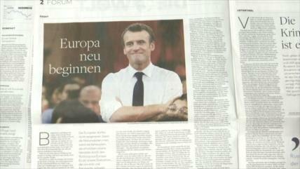 Emmanuel Macron escribe una carta abierta a ciudadanos europeos