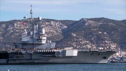 Portaviones nuclear francés zarpa para lanzar ofensivas en Siria
