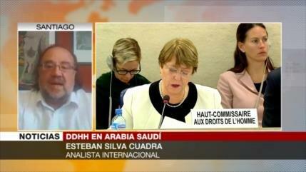 """Silva Cuadra: Riad tiene una política """"discriminadora de género"""""""