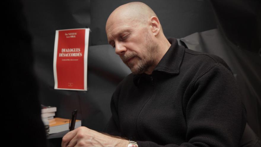 El destacado ensayista y editor francés Alain Soral.