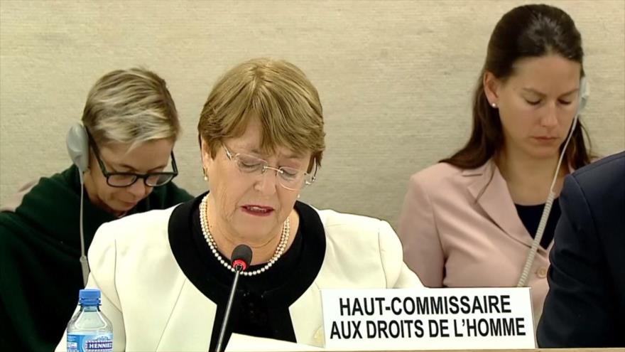 Bachelet denuncia al régimen de Israel y a Arabia Saudí | HISPANTV