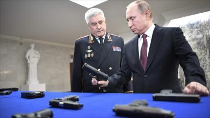 Putin: Rusia descubrió 594 espías extranjeros en 2018