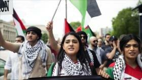 Apoyo estadounidense a Israel alcanza cifra más baja en una década