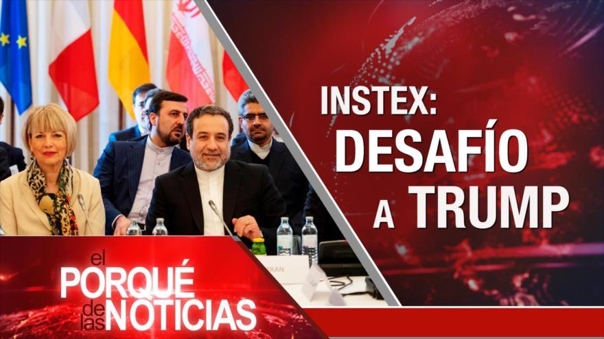El Porqué de las Noticias: Instex e Irán. ONU denuncia a Israel y Riad. Venezuela y embajador de Alemania