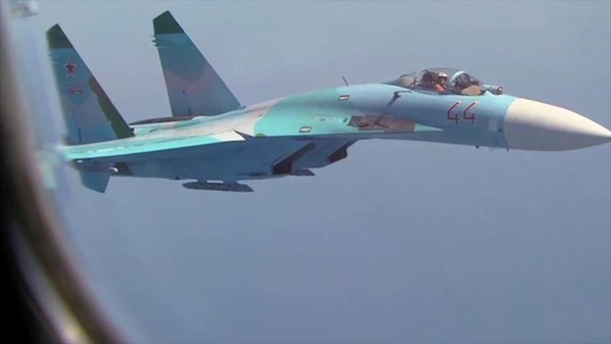 Vídeo: Sujoi ruso intercepta avión de reconocimiento de EEUU