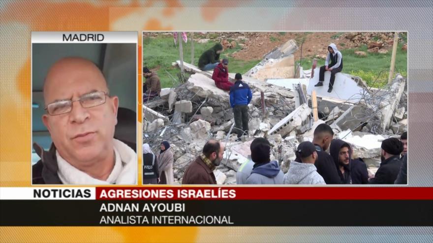 Ayoubi: Demolición de viviendas de palestinos es crimen de guerra   HISPANTV