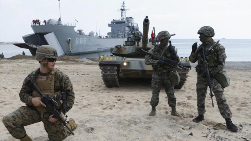 """Pyongyang ve en ejercicios Seúl-EEUU """"abierto desafío"""" a la paz   HISPANTV"""