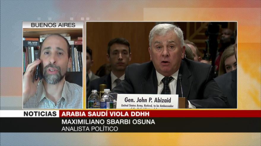 Osuna: Arabia Saudí vulnera los DDHH bajo la protección de EEUU | HISPANTV