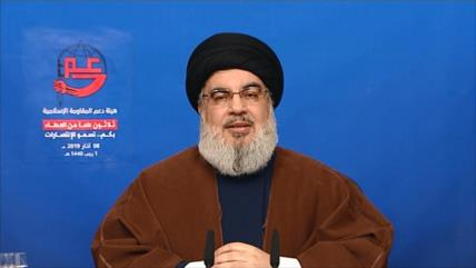 Nasrolá asegura que Israel ahora teme cualquier guerra con Hezbolá