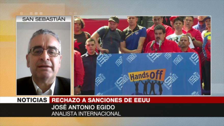 Egido: EEUU busca destruir la vida de la nación venezolana | HISPANTV