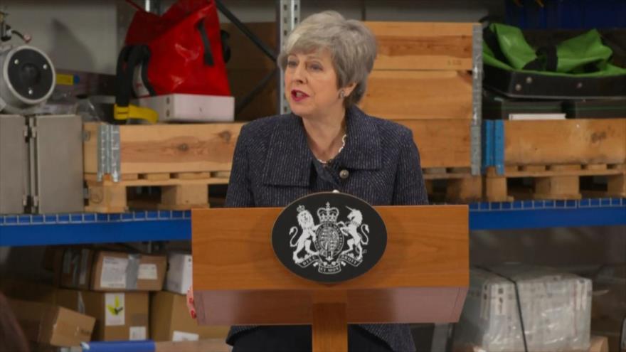May alerta de un futuro incierto si rechazan su Brexit   HISPANTV