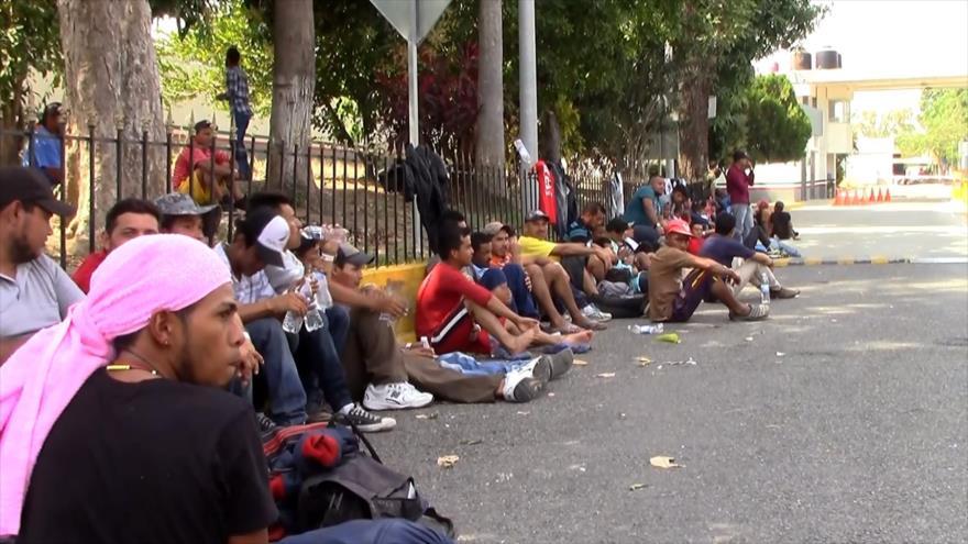 Continúa flujo migratorio en el estado méxicano de Chiapas