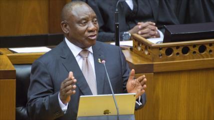 Sudáfrica anuncia que degrada su embajada en Israel