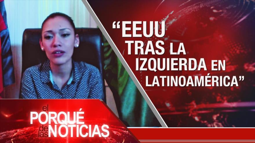 El Porqué de las Noticias: Hezbolá se planta a presión de EE.UU. Rol de Bolivia en Suramérica. Día Internacional de la Mujer